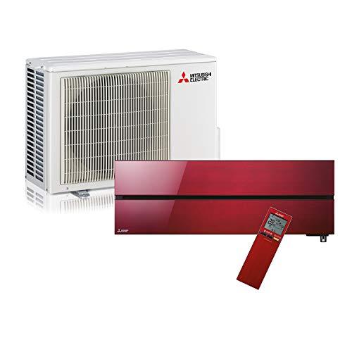 Mitsubishi Electric MSZ-LN35VGR-E1 Kit Climatizzatore Inverter Monosplit Pompa di Calore Composto Interna e unità Esterna Potenza 3,5 kW (12.000 BTU), Ruby Red