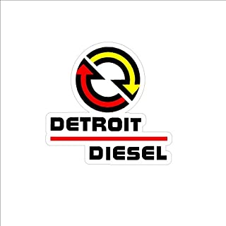 Signs By Woody Detroit Diesel Sticker Decal Small NHRA IMCA USRA NTPA
