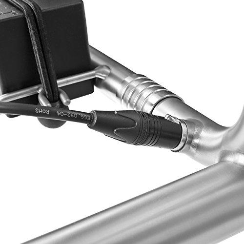 TiCad Goldfinger – 3-rädriger Elektrotrolley aus Titan (Steckprinzip) (Titan-Räder, Drehgriffsteuerung) - 5