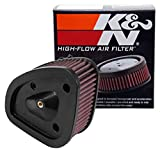 K&N Engine Air Filter: High Performance, Powersport Air Filter: Fits 2017-2019 HARLEY DAVIDSON (Road King, Electra Glide, Ultra, Classic, Tri Glide, Limited, Low, and other select models) HD-1717