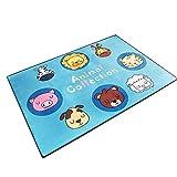 belupai Alfombrilla de gateo para niños, no tóxico, impermeable, doble cara, piso plegable, juego de bebé, alfombra de gimnasio para bebés y niños pequeños