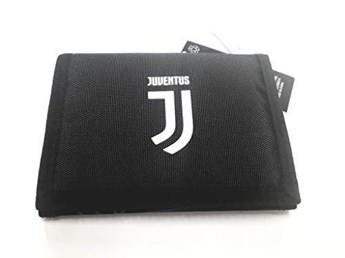 SEVEN SPA - Portafoglio Juventus A Strappo Wallet Rules - Cerniera Esterna Porta Monete - Prodotto Ufficiale