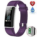 iPosible Montre Connectée Podomètre Bracelet Connecté Écran Coloré Smartwatch Sport Etanche IP68 Femme Homme Enfant Fitness...