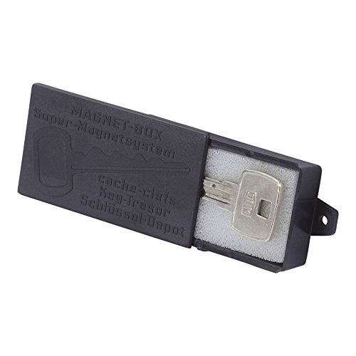 Smart Planet hochwertige Magnet Schlüsselbox/Magnet-Halterung für Schlüssel – Schlüsseldepot - schwarz