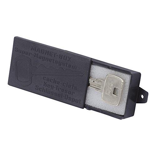 Smart-Planet hochwertige Magnet Schlüsselbox / Magnet-Halterung für Schlüssel – Schlüsseldepot - schwarz