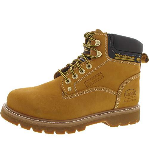 Dockers by Gerli Herren 23DA004 Combat Boots, Gelb (Golden Tan 910), 42 EU