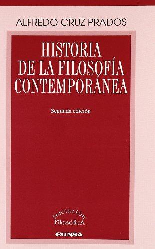 Historia de la filosofía contemporánea (Libros de iniciación filosófica)