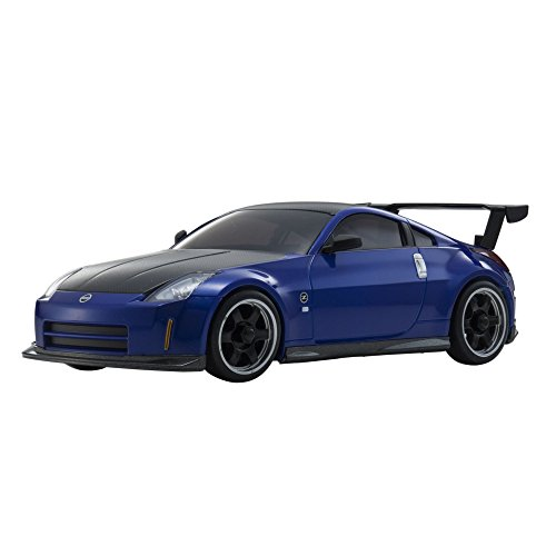 Kyosho Mini-Z MA020 Sports 4WD Nissan Fairlady Z (Z33) (KT19) NISMO S-tune equipped with GT Rear Wing Metallic Blue