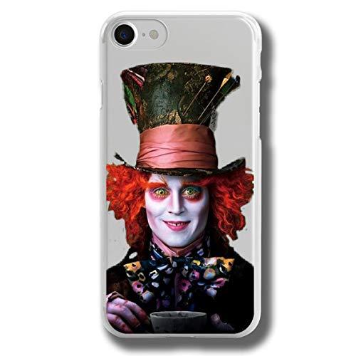 RENGMIAN Cover iPhone 7 Plus/iPhone 8 Plus,Lddn Watercolor Scratch-Resistant Transparent Soft TPU Case Pattern-14 Resistant Slim Fit iPhone 7 Plus/iPhone 8 Plus