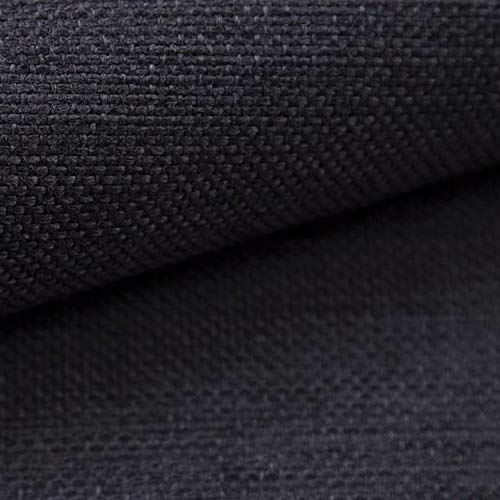 NOVELY® MUDAU | Polsterstoff | Meterware | Möbelstoff | Webstoff | Struktur-Stoff | Mélange | Grober Handwebcharakter | 26 Farben (13 Anthrazit)