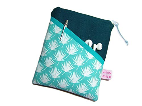 eReader Tasche Fächerpalme mint eBook Reader Tablet Hülle, Maßanfertigung bis max. 10,9