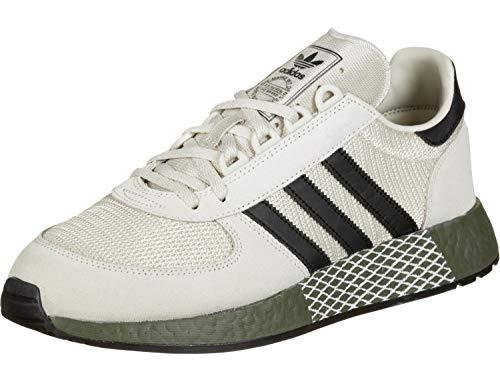 Adidas Marathon Tech Raw White Black Raw Khaki 44.5