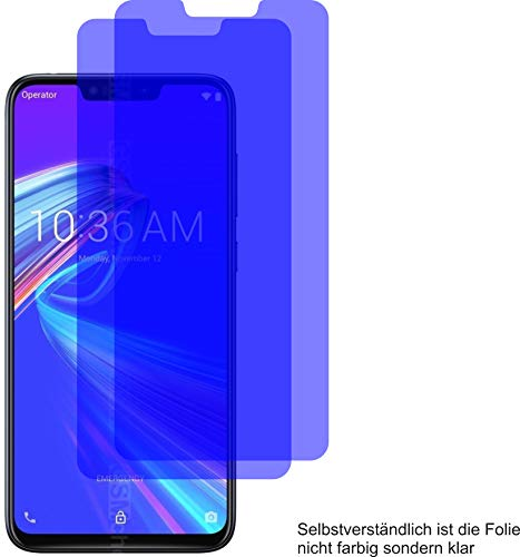 4ProTec I 2X ANTIREFLEX matt Schutzfolie für Asus ZenFone Max M2 Bildschirmschutzfolie Displayschutzfolie Schutzhülle Bildschirmschutz Bildschirmfolie Folie