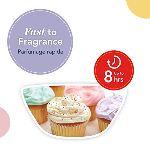 Yankee Candle cialde di cera profumate Wax Melt | Cupcake alla vaniglia | Durata della fragranza: fino a 8 ore | 1 pezzo