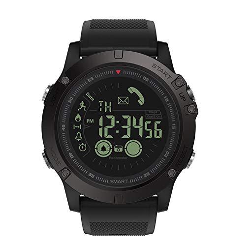 YouN Zeblaze VIBE3 Bluetooth Smart Armband Schrittzähler für iOS und Android (Schwarz