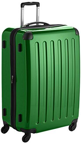 HAUPTSTADTKOFFER - Valigia Rigida Alex, Taglia 75 cm, 119 Litri, Colore Verde