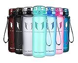 Super Sparrow Botella de agua deportiva - 500ml - Eco amigable y sin plasticos BPA - Color Menta, 500ml-17oz