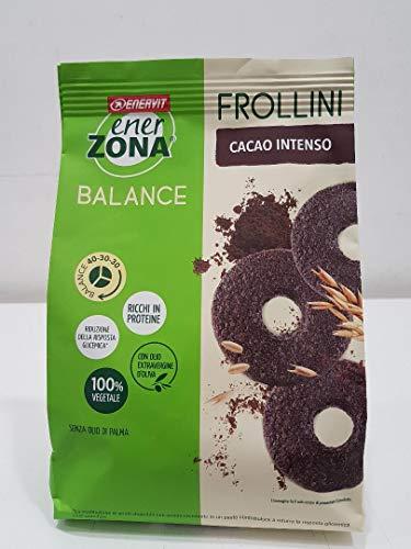 6 Enerzona Frollini 40-30-30 da 250 g. gusto Fondente Intenso