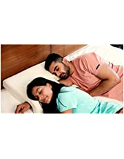 """The White Willow Memory Foam Couple Hug Arm Hand Pressure Love Pillow for Sleeping for Husband & Wife Perfect (25.5"""" x 18""""W x 4.5"""")"""