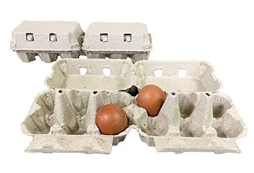 Generico 50 contenitori portauova in Cartone Bianco