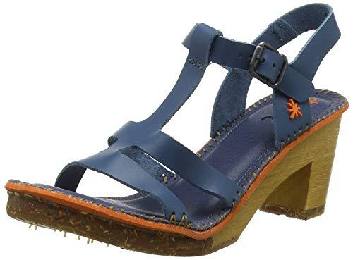 Art 1079 Bérro Jeans/Amsterdam sandalen met enkelriem voor dames