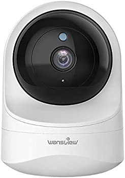 Wansview 1080PHD Wireless Security Camera for Home Works with Alexa
