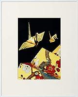 Kenko アルミ額縁 ケンコー 画廊 ガラスタイプ A4 ホワイト AGR-A4-WH