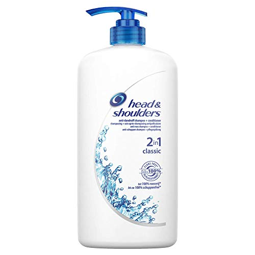 Head & Shoulders Classic Clean 2-in-1, Anti-Schuppen-Shampoo und -Conditioner, 1000 ml