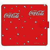 TONE m17 ケース [デザイン:J.スター(赤)/マグネットハンドあり] Coca-Cola コカ コーラ トーン m17 手帳型 スマホケース スマホカバー 手帳 携帯 カバー