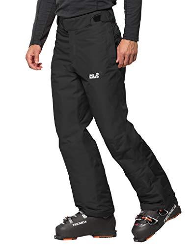 Jack Wolfskin M Powder Mountain Pants Zwart, Herenbroek, Maat 50 - Kleur Zwart