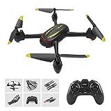 Drone GPS avec Caméra HD 1080P, 500M Plage, Suivez-Moi, App-Control, Vol De 13 Minutes, Une Touche Start/Atterrissage, Maintien D'altitude, RC Quadrocopter pour Les Débutants,Noir