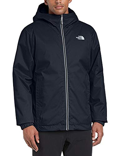 The North Face M Quest Insulated Jkt, Giacca Impermeabile Uomo, 100% poliestere, Nero (TNF Black), L