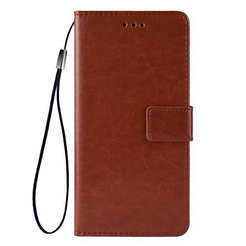 GOGME Funda para Nokia G10 | G20 Funda con Billetera, Premium Leather Folio PU/TPU Libro Piel de Cuero Flip Carcasa Case Cover con Ranuras para Billetera y Tarjetas, Marrón