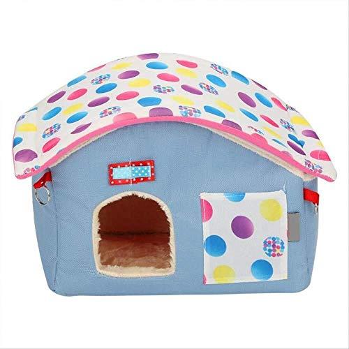 TYXL Life in The Doghouse Pet Cottagetoys Nestpig House Cama Jaula for Hámster Ratones Animales Hamacas Pequeña Mascota Hamster House