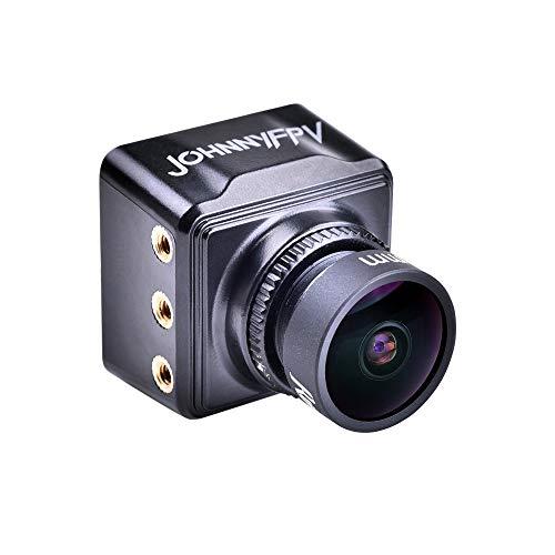RunCam Swift Mini 2 JohnnyFPV Edition - Cámara de fotos (tamaño pequeño, cámara CCD de 22 x 22 cm), color negro