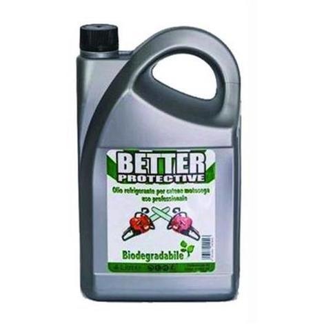 Better - Aceite protector refrigerante para cadenas de motosierra biodegradable, 4 litros