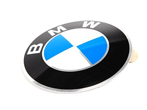 Price comparison product image BMW Genuine Badge Light Alloy Wheel Adhesive Sticker Emblem 64.5mm 36131181080