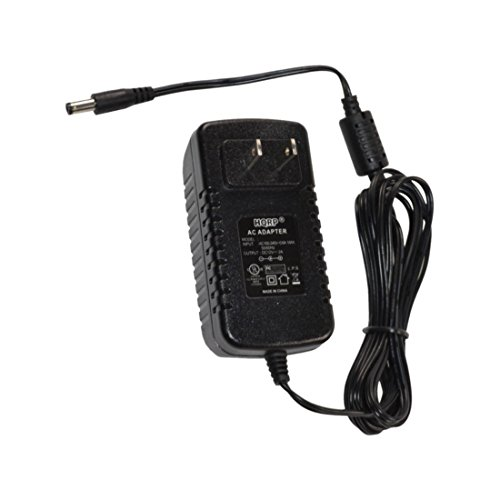 HQRP 12V AC Adapter Compatible with Focusrite iTrack Dock Power Supply PSU Cord Adaptor [UL Listed] + Euro Plug Adapter