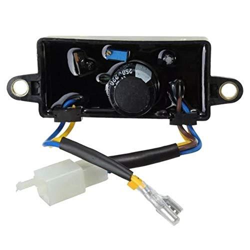 Motorrad-Komponenten Generator Spannungsreglergleichrichter Einphasen AVR Fit 2 kW - 3 kW, einfach zu bedienen.