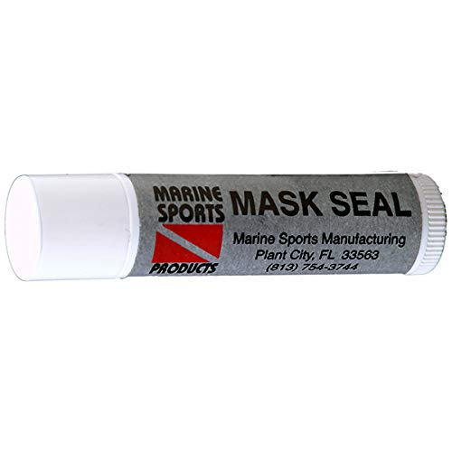 Snorkeling and Scuba Diving Mask Sealer and Mustache Wax