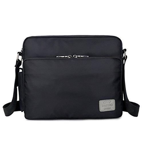 Outreo Borsa Tracolla Vintage Borse Spalla Borsello Nylon Sacchetto Tablet Sport Tasca Donna Borsetta Uomo Messenger Bag Viaggio