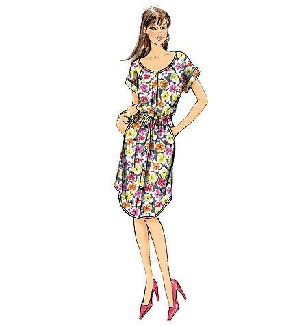 Mc Calls Schnittmuster 6678 A Damen Hemdblusenkleid in 3 Varianten Gr. 8-16 (34-42)
