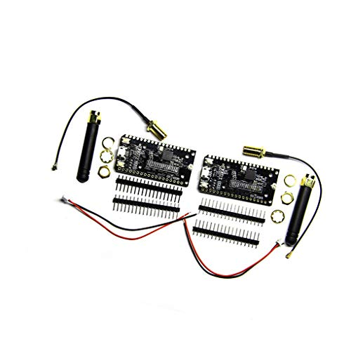 2PCS ESP32 SX1276 LoRa Bluetooth WI-FI Lora Internet Antenna Development Board, 868MHz