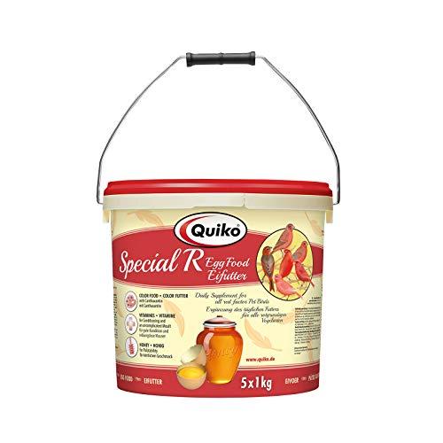 Quiko Special Rot 5000g (5 x 1kg) - Eifutter für alle rotgrundige Vogelarten