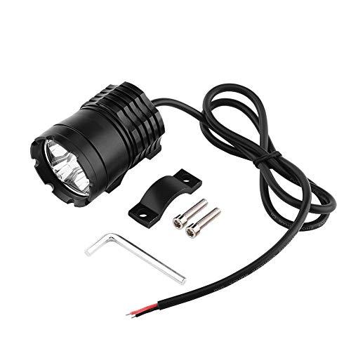 Duokon 40W 4 LED motorfiets koplamp, CNC aluminium koplamp ronde conversie koplamp Spotlight