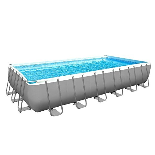 INTEX 12 54978 Ultra Quadra II Marco Piscina Set 732 x 366 x 132 cm