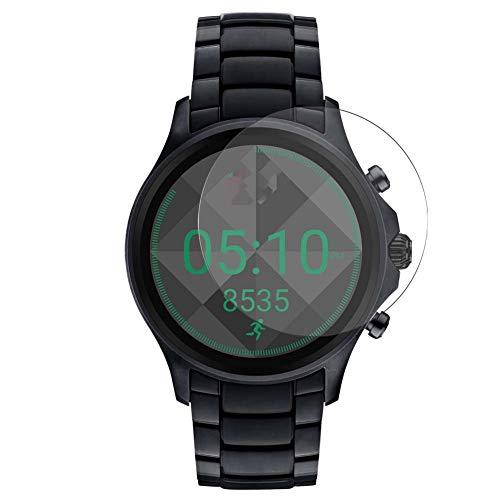 Vaxson 3-Pack TPU Pellicola Protettiva, compatibile con Emporio Armani Touchscreen Smartwatch 43mm Smartwatch Hybrid Watch, Screen Protector Film [ Non Vetro Temperato ] Nuova versione