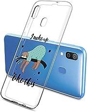 Oihxse Funda Samsung Galaxy S10 Plus, Ultra Delgado Transparente TPU Silicona Case Suave Claro Elegante Creativa Patrón Bumper Carcasa Anti-Arañazos Anti-Choque Protección Caso Cover (A16)