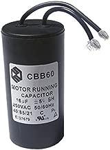 Share CBB60 Capacitor For Washing Machine Motor Running 16uF 250V Capacitor 50/60Hz 40/70/21