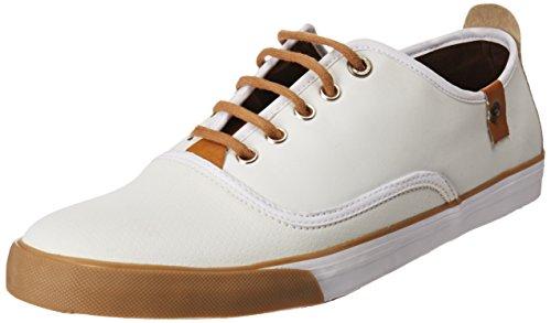 Pepe Jeans NEW BONN New Bonn Tenis Casual para Hombre, color Blanco, 28, Mod: NEW BONN